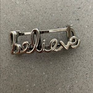 """KEEP Collective Jewelry - KEEP Collective """"believe"""" charm"""